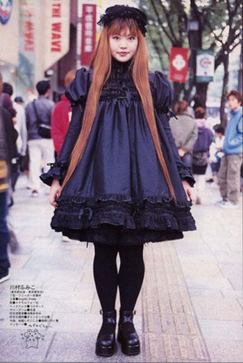 Quelques dernière photos du look gothique lolita