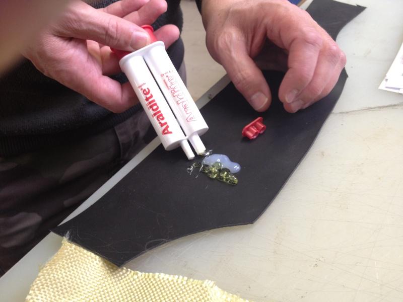 comment reparer une canne a peche en carbone