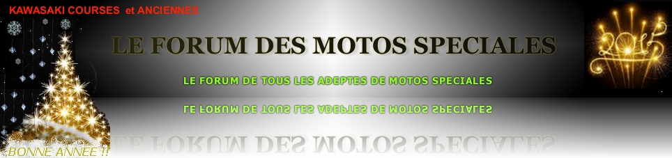 FORUM DES MOTOS SPECIALES