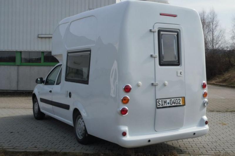 Connu Pour le vrai camping en Dacia NZ31