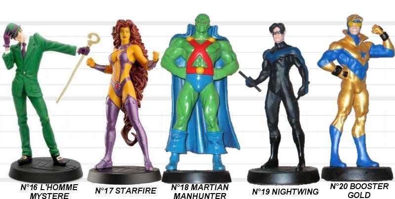 Retrouvez les plus belles figurines des univers Marvel et DC Comics