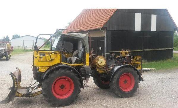 tracteur forestier woody