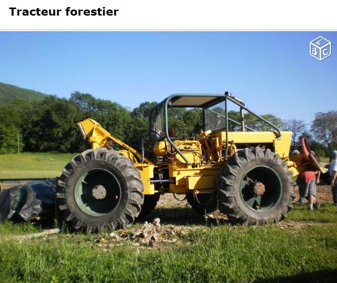 tracteur forestier agrip 5000