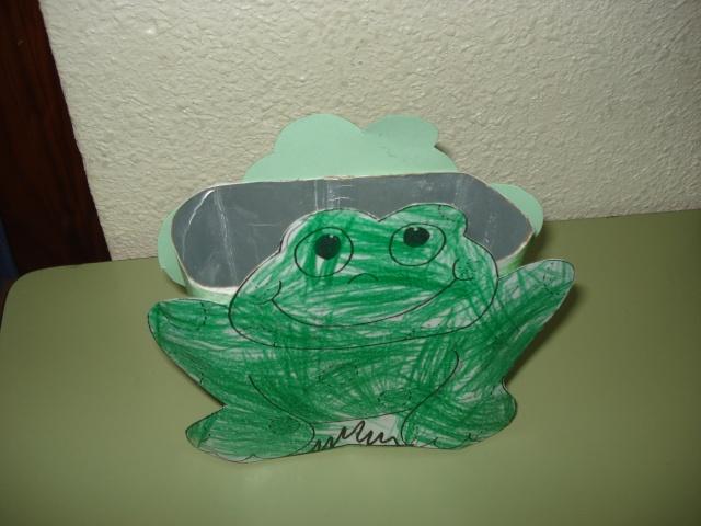 Lapicero rana - Rollos de papel pintado ...