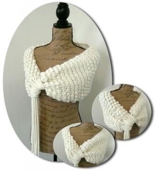 un peu de (gros) crochet dans tricot prysen10