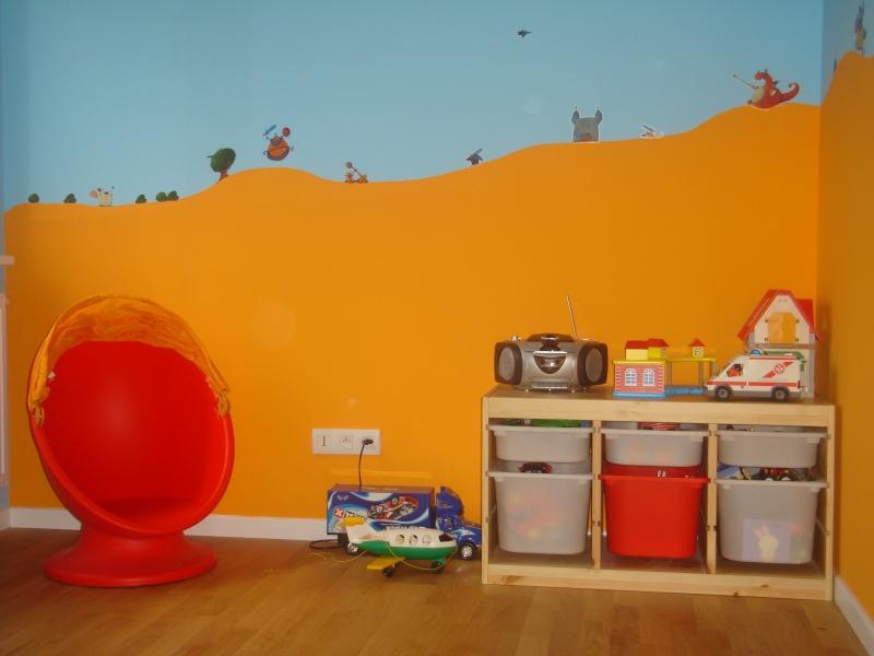 Stunning Chambre En Orange Et Bleu Turquoise Images - Ridgewayng.com ...