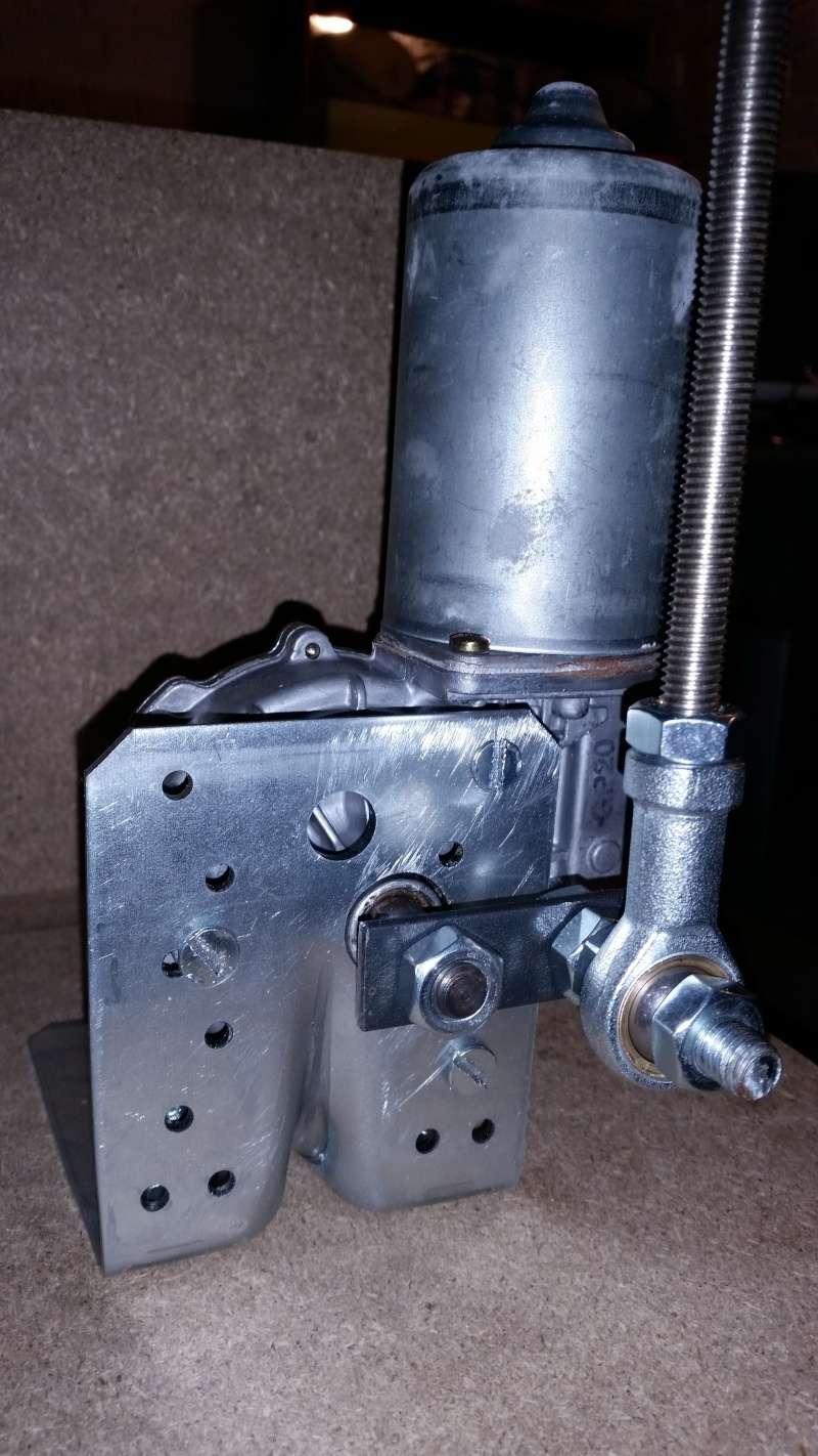 installation de la roue de billette s366