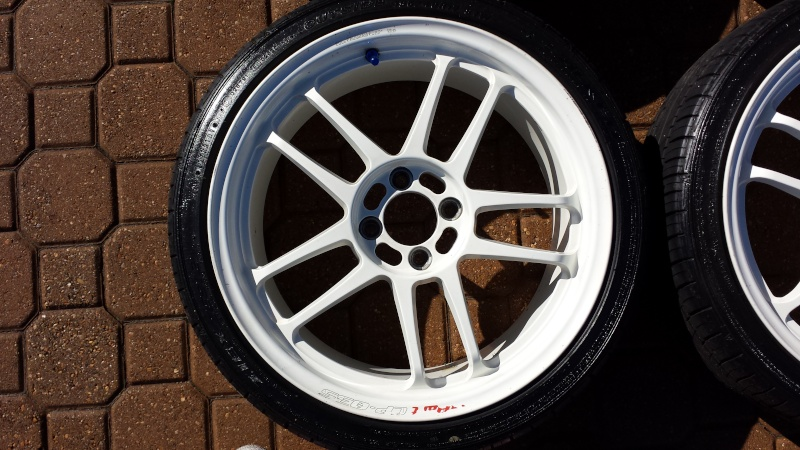fs racing hart cp 035 17x7 white w falken ziex 912 tires. Black Bedroom Furniture Sets. Home Design Ideas