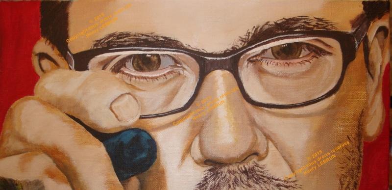 Portrait terminé le 14 janvier 2015