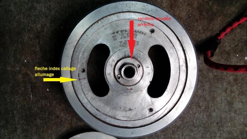 remagnétiser un volant magnétique