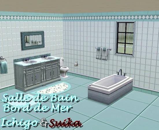 Salle de bain inspiration bord de mer solutions pour la - Salle de bain bord de mer ...