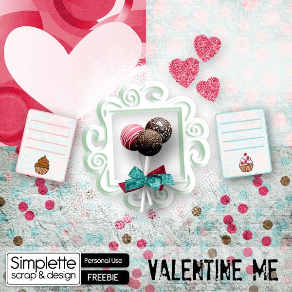 valentine me blogtrain scrapfromfrance simplette