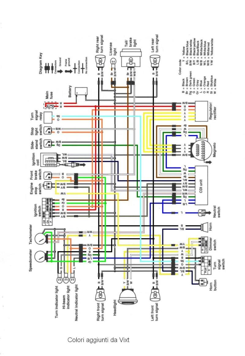 Schema Elettrico Fiat D : Schema impianto elettrico a colori vixt