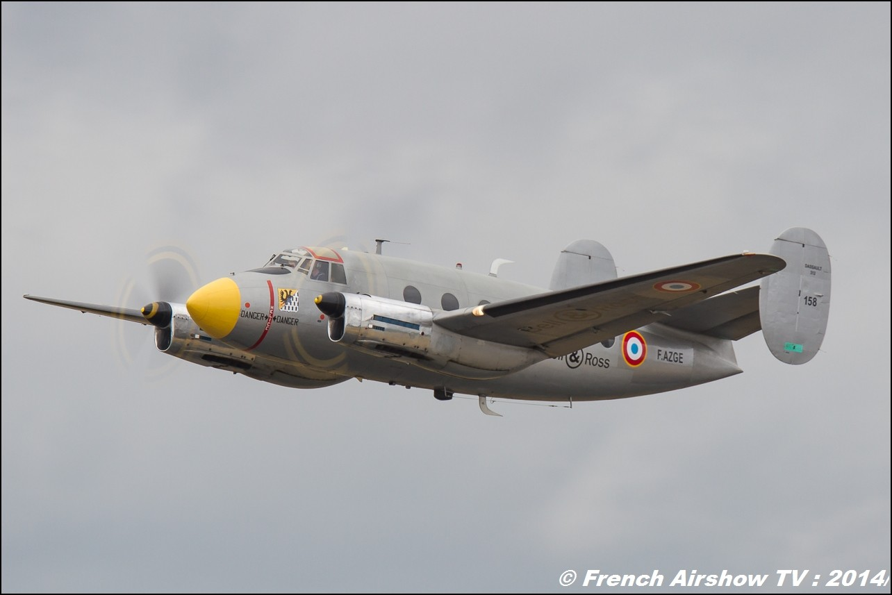 Dassault Flamand MD311- MD312, Amicale des Avions Anciens d'Albert,Meeting Aerien BA-133 Nancy Ochey 2014