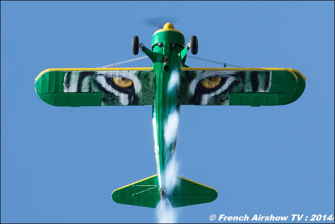 Stearman PT-17 F-AZGR , Aéro Rétro de Saint-Dizier, Patrouille Stearman & Waco : SIERRA WHISKY, Stearman tiger