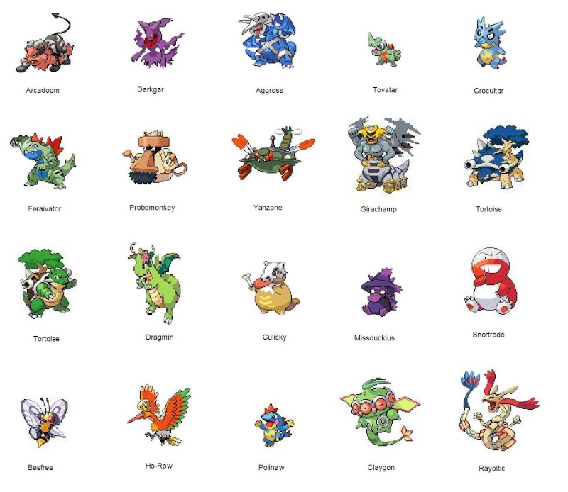 Shiny pokemon liste