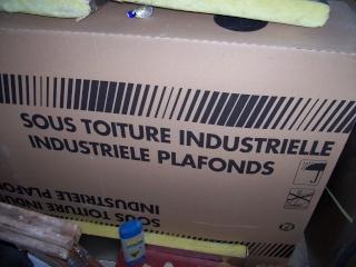 isolant pour sous-toiture industrielle