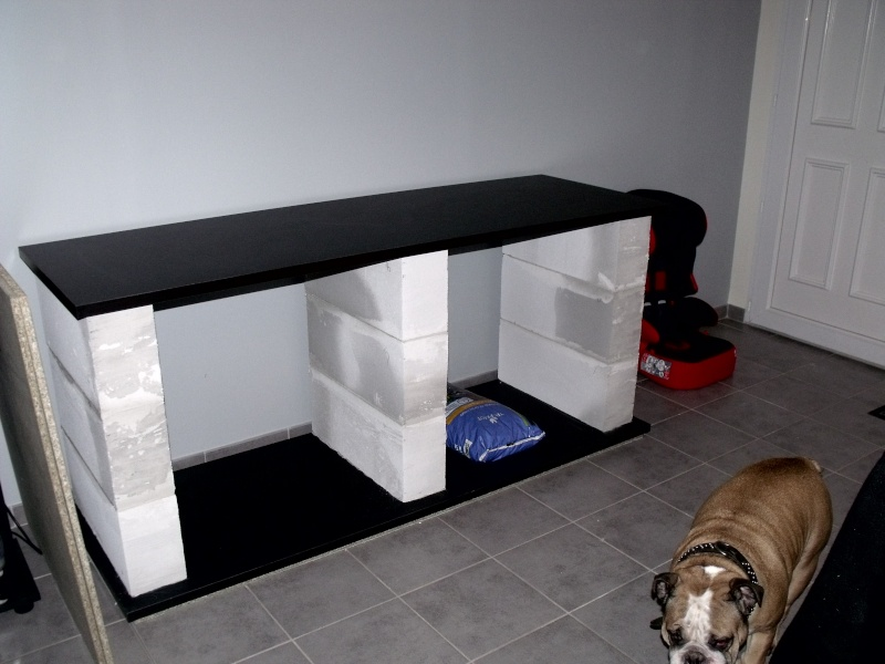 fabriquer meuble aquarium siporex. Black Bedroom Furniture Sets. Home Design Ideas