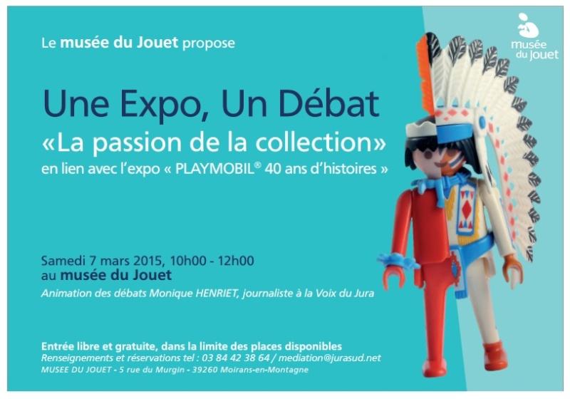 invitation débat au musée du jouet de moirans en montagne fanny olivier playmobil