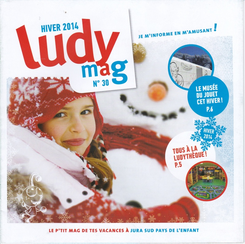 ludy mag n°30 hiver 2014 expo playmobil fanny et olivier