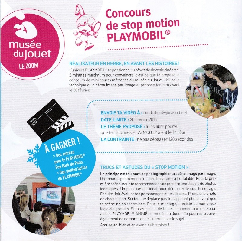 ludy mag n°30 expo playmobil fanny et olivier page 6