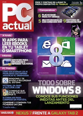 PC Actual - Todo sobre Windows 8 [255][Octubre 2012]