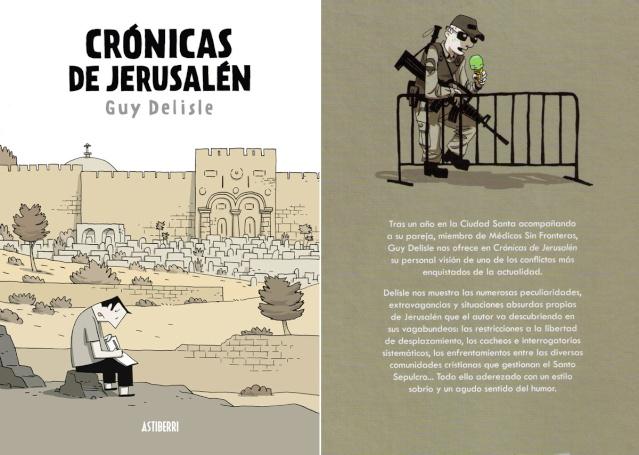 Crónicas de Jerusalén - Guy Delisle [Cómic][Español]