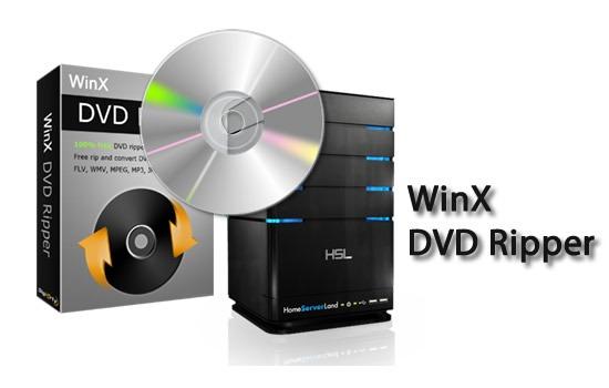 WinX DVD Ripper Platinum 7.2.0.103 - Grabando DVDs