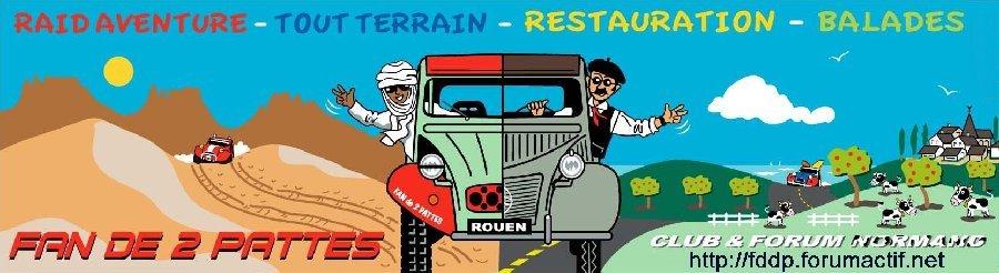 Forum FAN DE 2 PATTES : 2CV offroad, raid, TT, trial, 4X4 ...