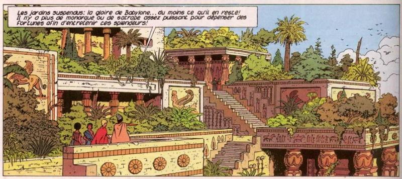 Belles images des albums page 2 for Jardin suspendu babylone
