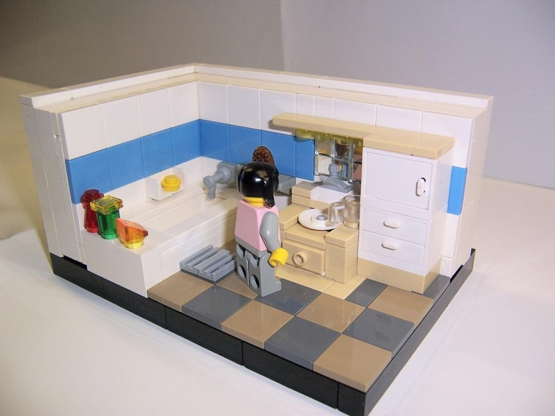 Moc A Bathroom Lego Town Eurobricks Forums