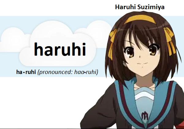 Haruhi Suzimiya (@Suzimiya_Haruhi) on Heello