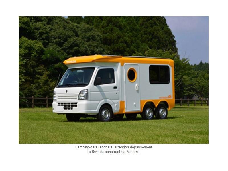 avec les camping cars japonais d paysement assur. Black Bedroom Furniture Sets. Home Design Ideas