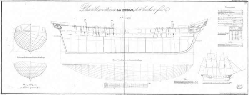 Restauration une corvette aviso 1832 1840 for Creatore di piani gratuito