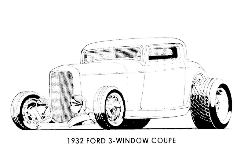 1929 Dodge Wiring Diagram as well 1932 Ford Wiring Diagram further T32998 Dessin D Auto A Colorier in addition Deluxe 27 T Bucket Frame Kit W Deluxe Body Unchanneled Floor 43695 moreover Drawings. on 1929 chevy coupe