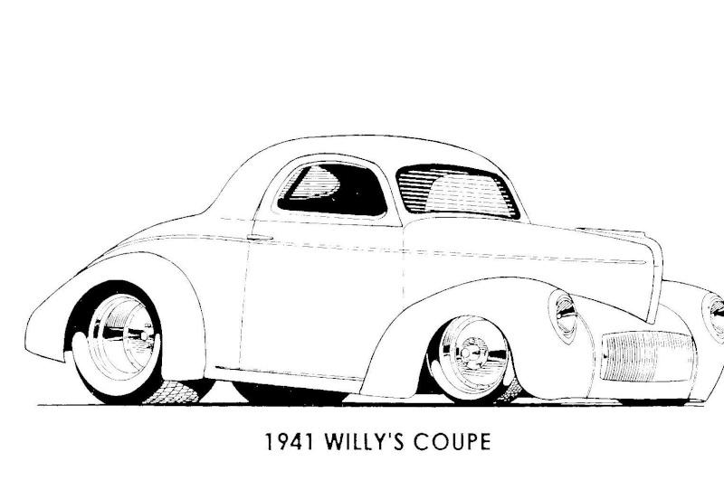 dessin d u0026 39 auto  u00e0 colorier