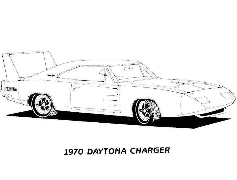 T32998 Dessin D Auto A Colorieron 1958 Chevy Impala