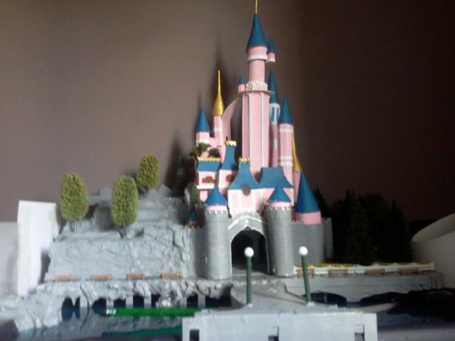 Maquette chateau de la belle au bois dormant - Chateau la belle au bois dormant ...