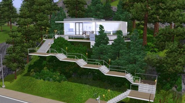 Sims 2 et 3 la maison de clara for Modele maison sims 2