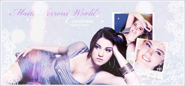 Maite Perroni World Croatia