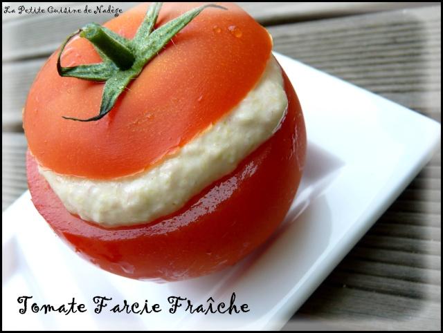 Comme des tomates farcies entr e rafra chissante la for Entree vite faite simple