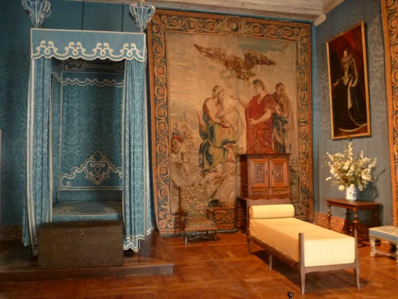 Chateaux de la loire for Chambre louis xiv