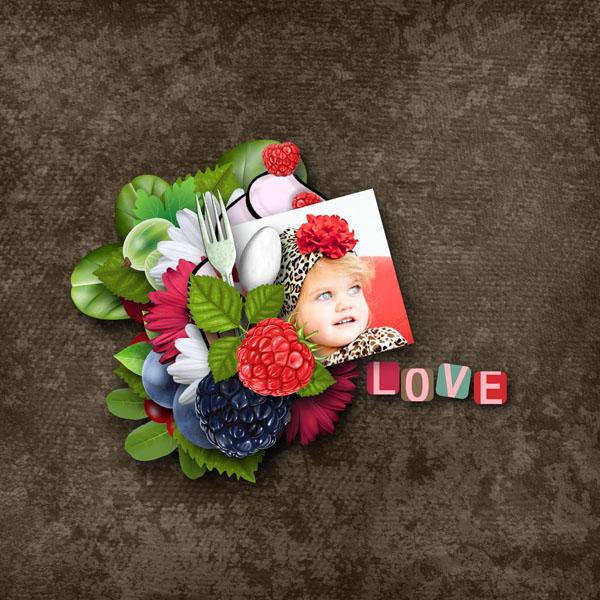 page mamandelena a deguster en amoureux simplette scrap