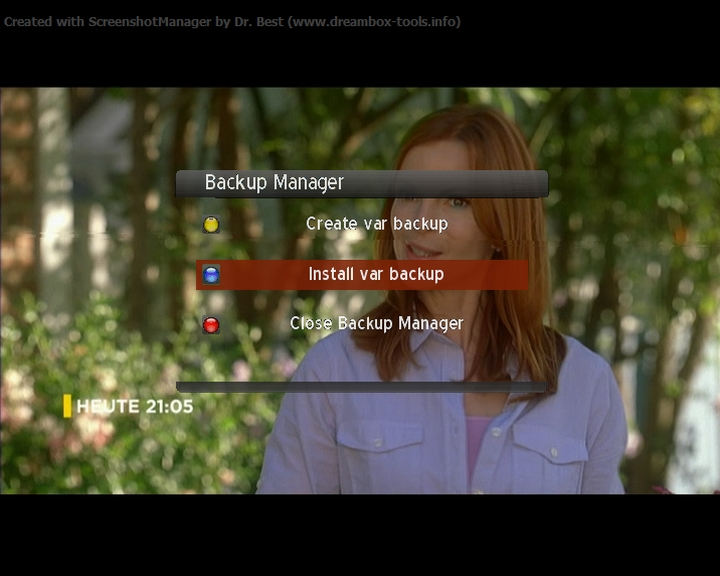 Gogoman Backup Evolution 2.7 Dreambox 7000