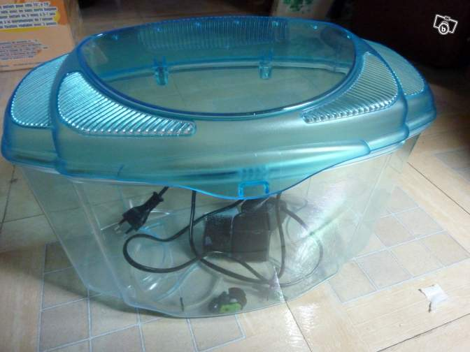 Nouveau et dernier aquarium fluval spec 7 6l for Aquarium plastique