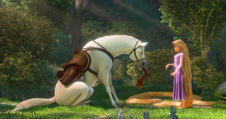 Dessin anim raiponce - Maximus cheval raiponce ...