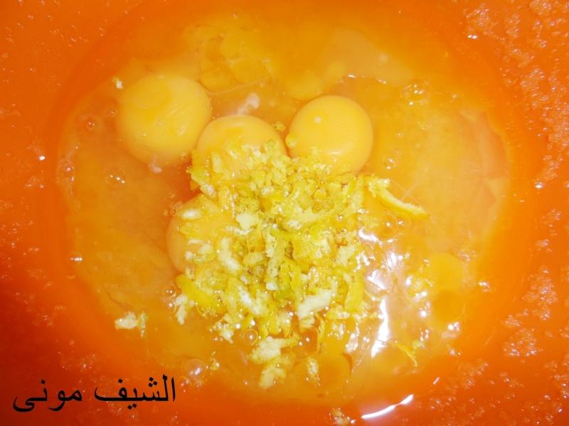 وتبقى كيكة البرتقال كلها برتقال فاستبدلت فى المكونات الحليب بعصير