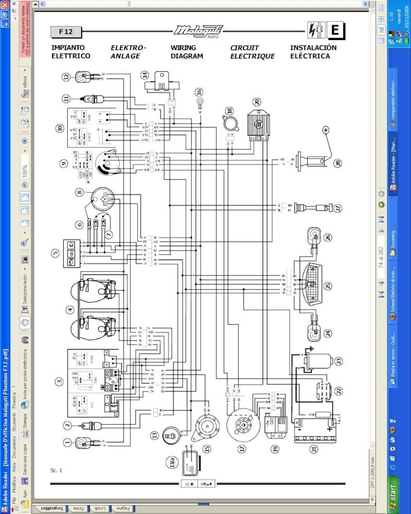 Schema Impianto Elettrico Suzuki Jimny : Riparazione suzuki katana schemi