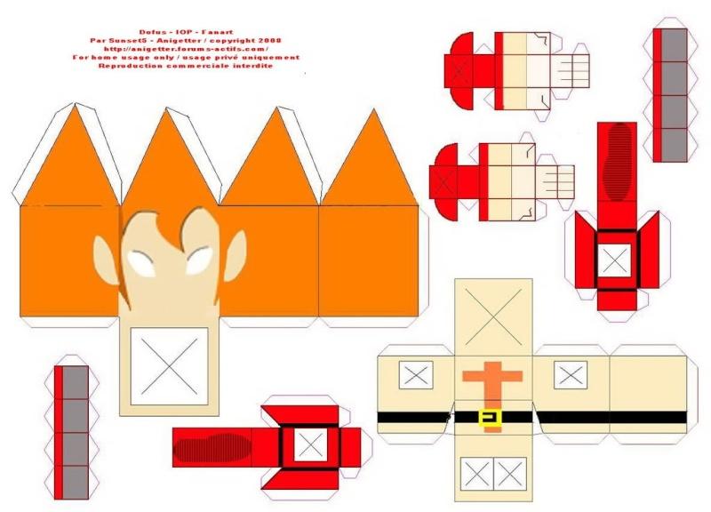 les 12 classes de dofus en papercraft forum dofus le mmorpg strat gique. Black Bedroom Furniture Sets. Home Design Ideas