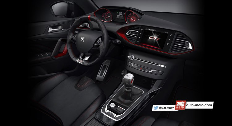 2016 peugeot 308 gti for Peugeot 308 r interieur